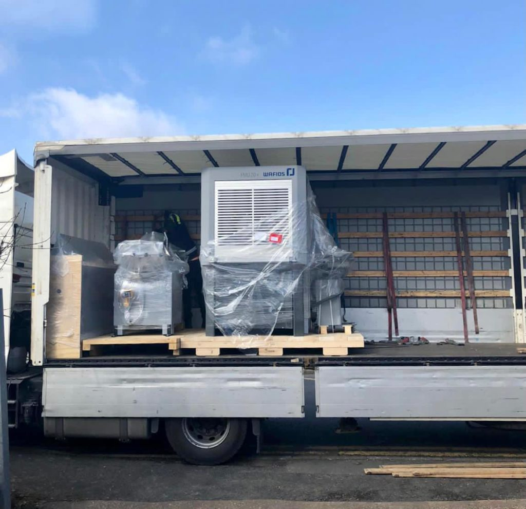 Latest Investment - Wafio FMU 20+ on Truck